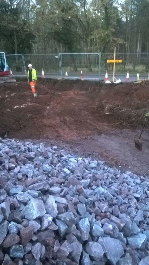 roadway drainage project shrewsbury