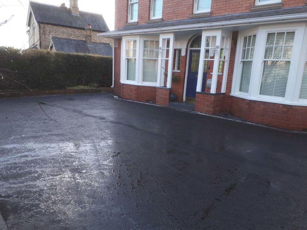 road surfacing for domestic driveways shropshire