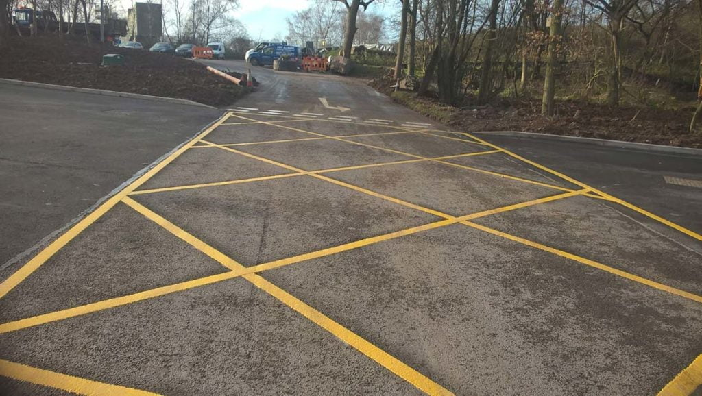 commercial driveways surfacing project shrewsbury