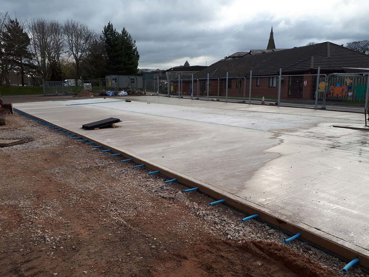 commercial road surfacing project shropshire