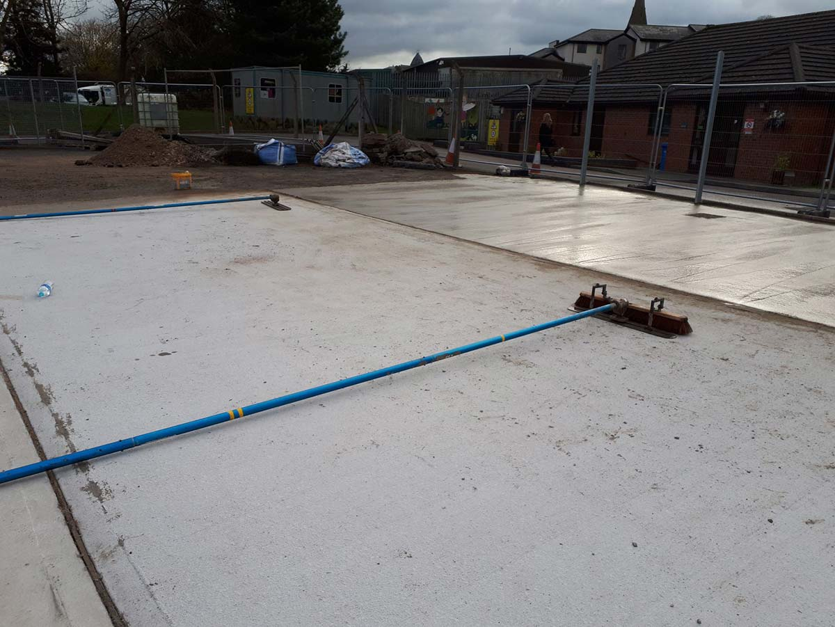 commercial road surfacing project shrewsbury